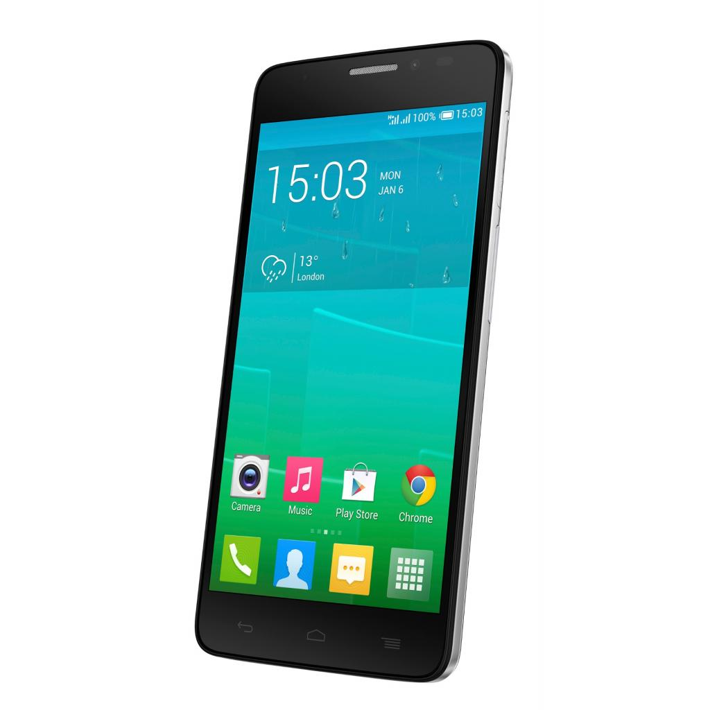 Мобильный телефон ALCATEL ONETOUCH 6043D (Idol X+) Bluish Black (4894461099132) изображение 4