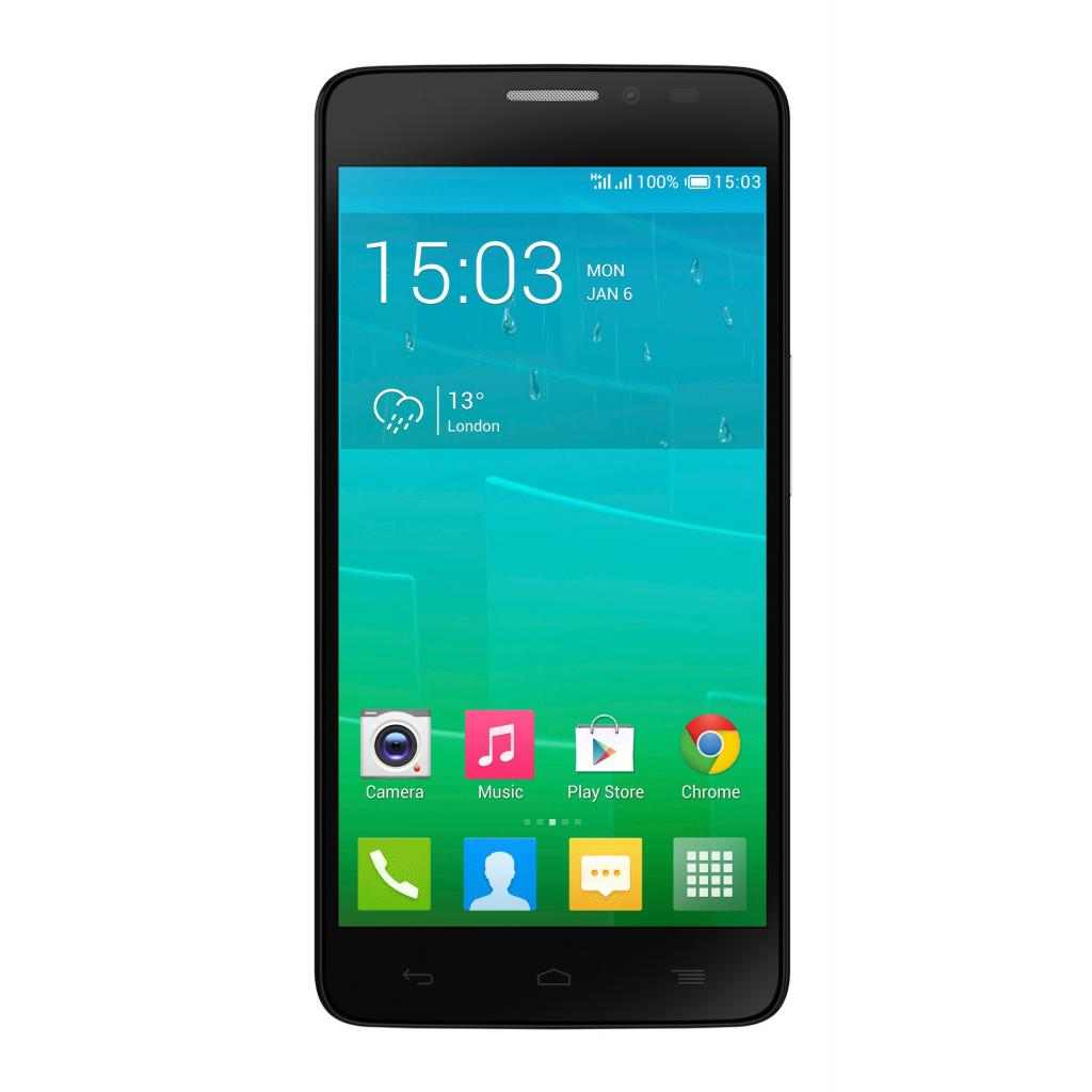 Мобильный телефон ALCATEL ONETOUCH 6043D (Idol X+) Bluish Black (4894461099132)