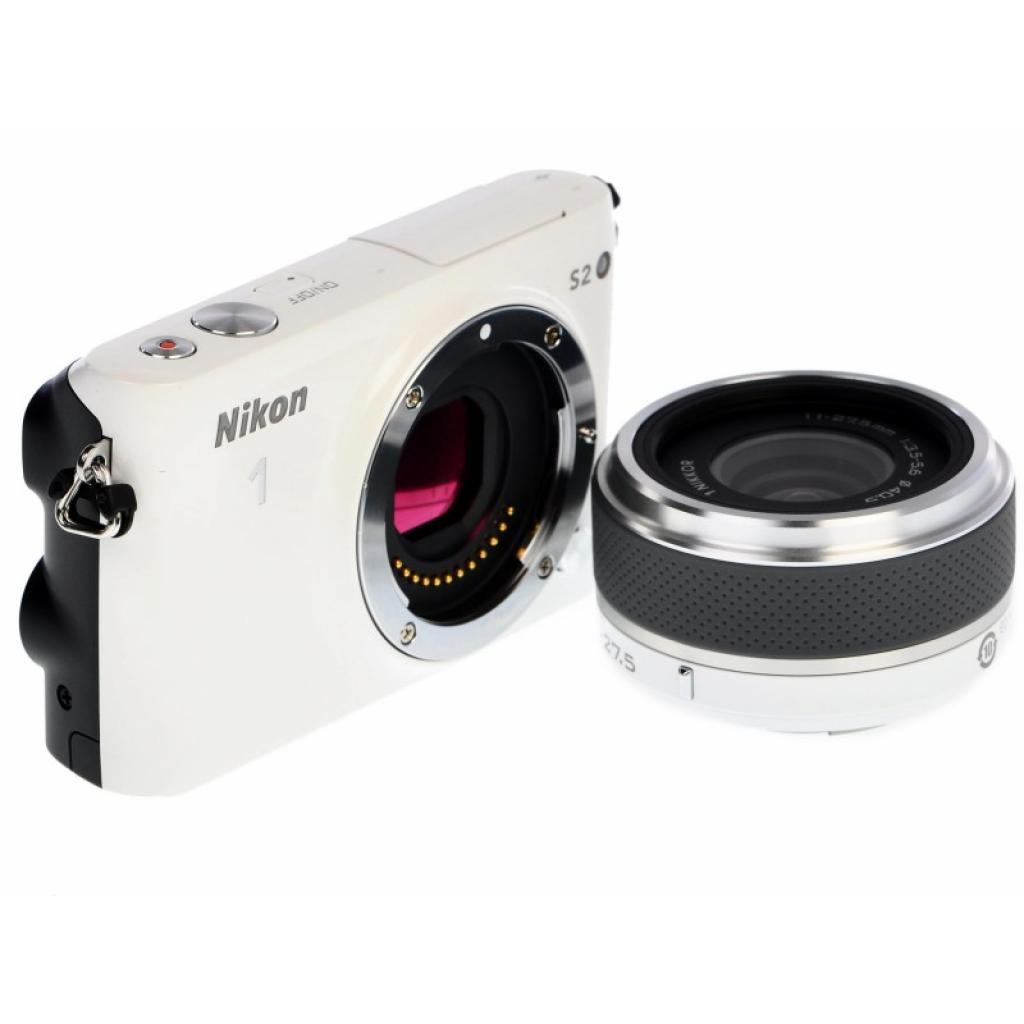 Цифровой фотоаппарат Nikon 1 S2 + 11-27.5mm White (VVA222K001) изображение 3