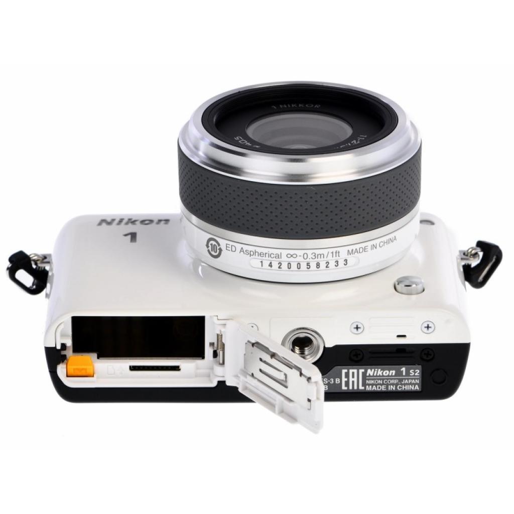 Цифровой фотоаппарат Nikon 1 S2 + 11-27.5mm White (VVA222K001) изображение 7