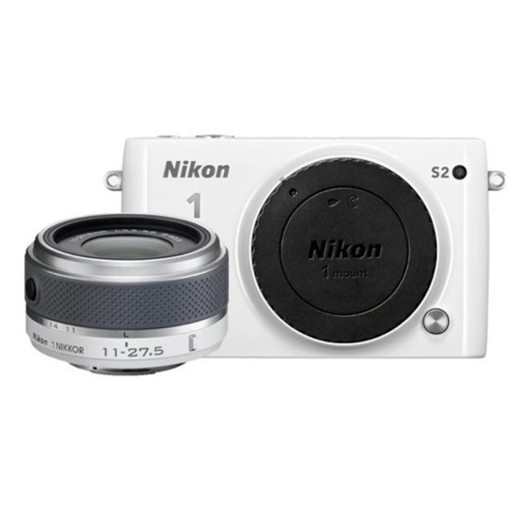 Цифровой фотоаппарат Nikon 1 S2 + 11-27.5mm White (VVA222K001) изображение 8
