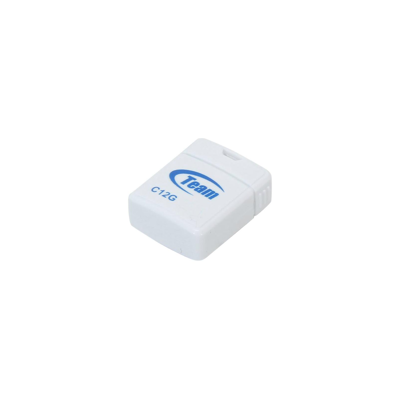 USB флеш накопитель Team 32GB C12G White USB 2.0 (TC12G32GW01) изображение 2
