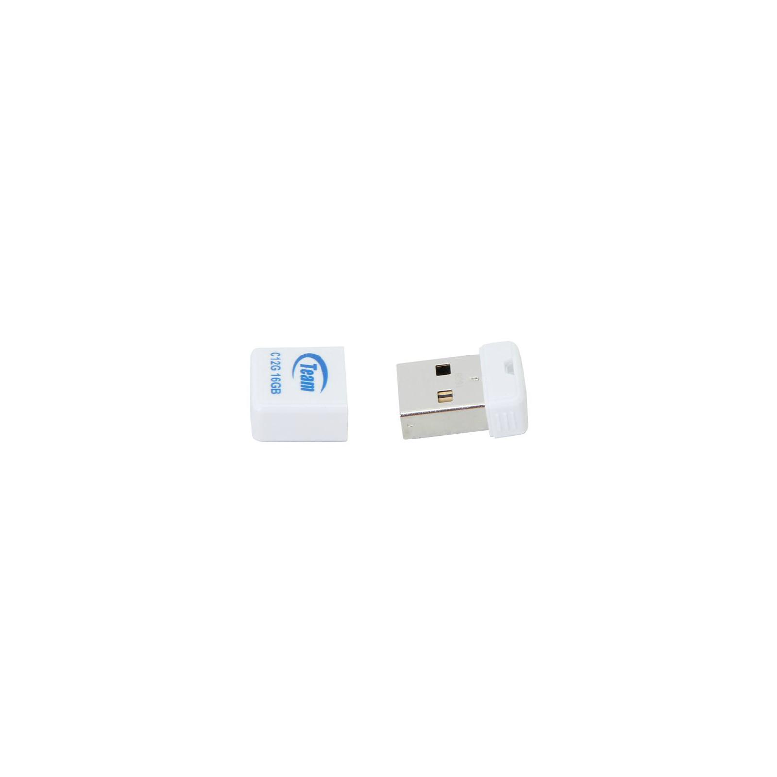 USB флеш накопитель Team 32GB C12G White USB 2.0 (TC12G32GW01) изображение 3