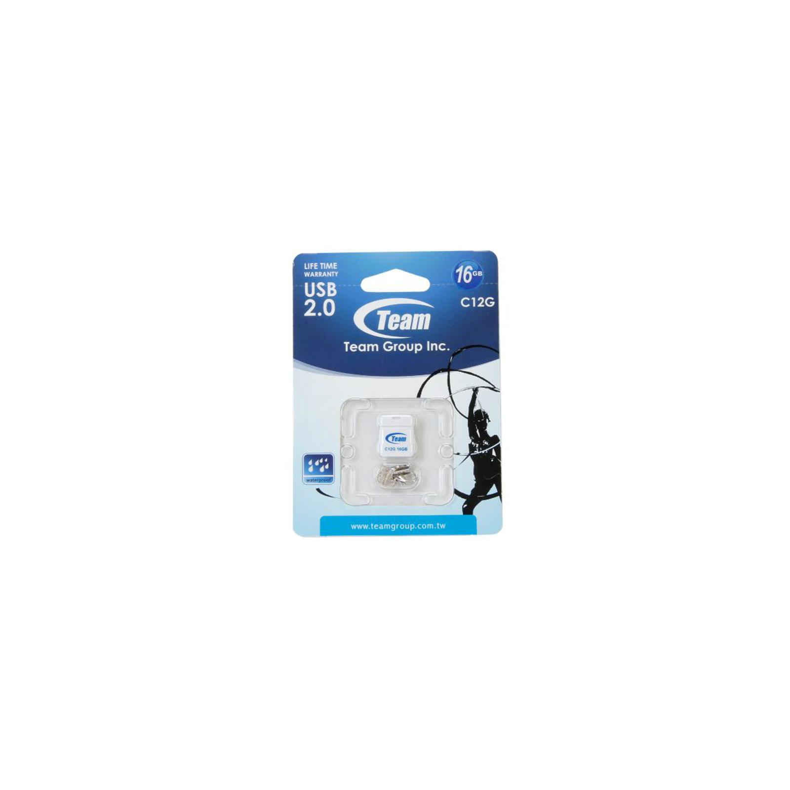 USB флеш накопитель Team 32GB C12G White USB 2.0 (TC12G32GW01) изображение 5