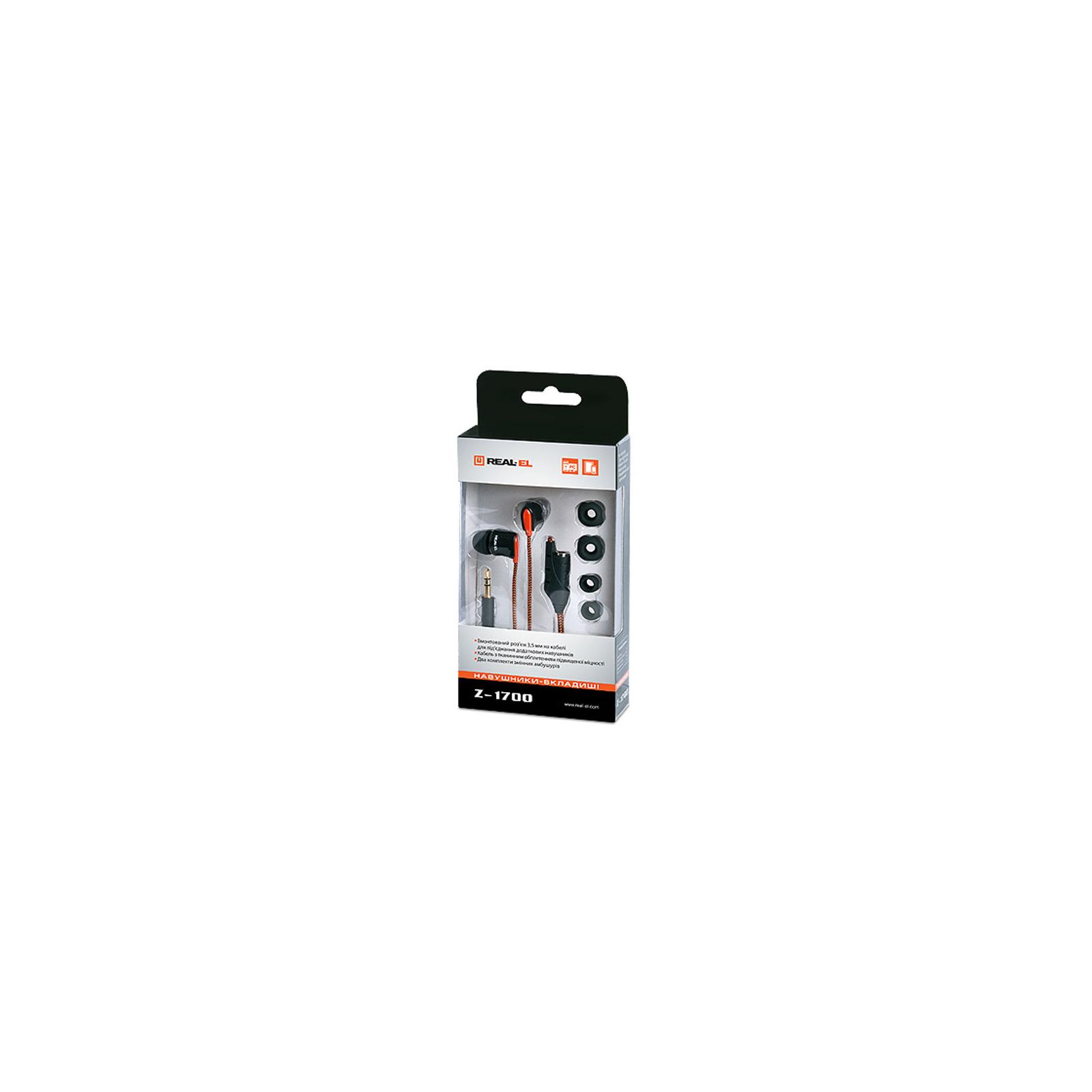 Навушники REAL-EL Z-1700 зображення 2