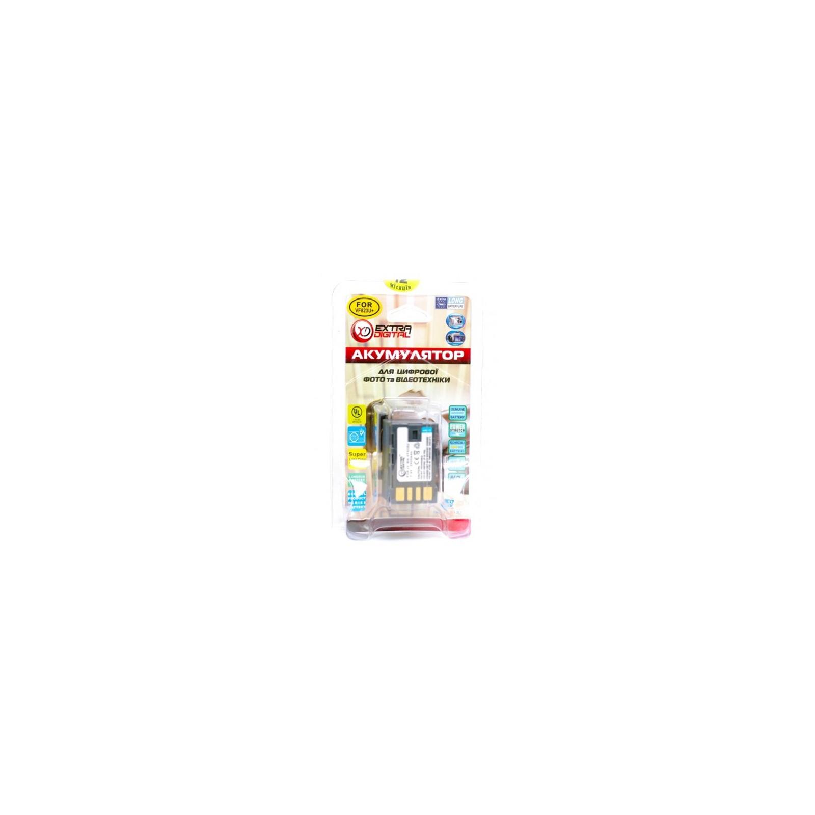 Аккумулятор к фото/видео EXTRADIGITAL JVC BN-VF823 (BDJ2491) изображение 3