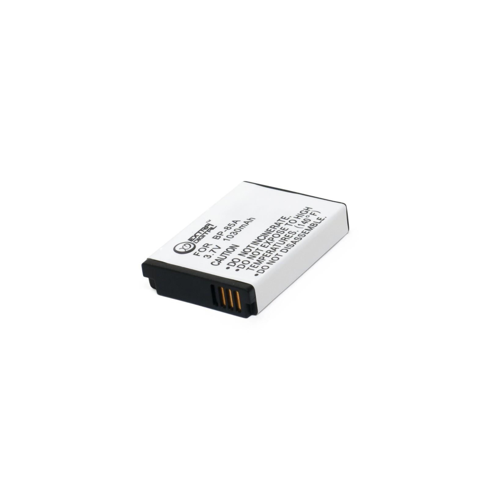 Аккумулятор к фото/видео EXTRADIGITAL Samsung IA-BP85A (DV00DV1360) изображение 3