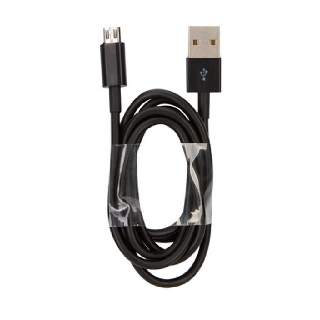 Дата кабель JUST Simple Micro USB Cable Black 1M (MCR-SMP10-BLCK) изображение 1