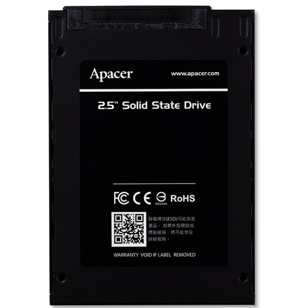 """Накопитель SSD 2.5"""" 120GB Apacer (AP120GAS330) изображение 2"""