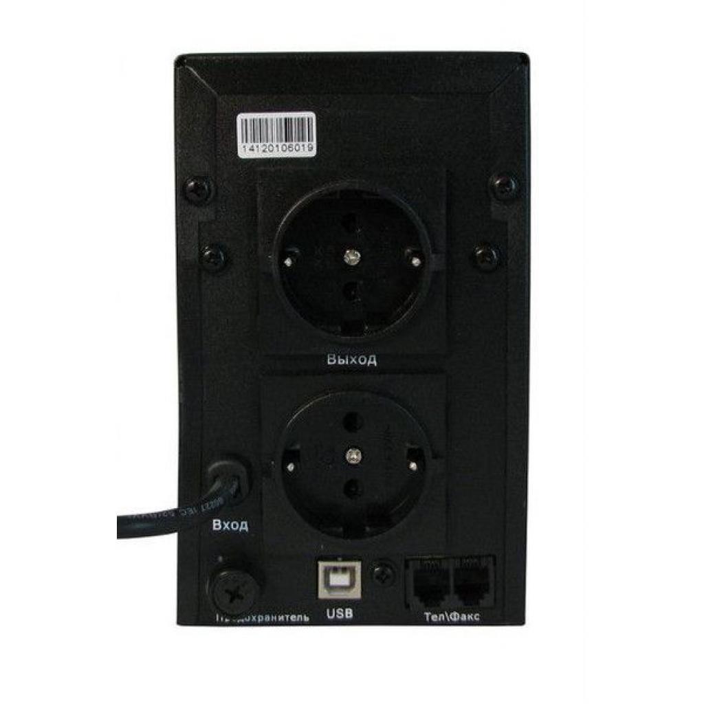 Источник бесперебойного питания PrologiX Standart 1500 LCD+USB изображение 2