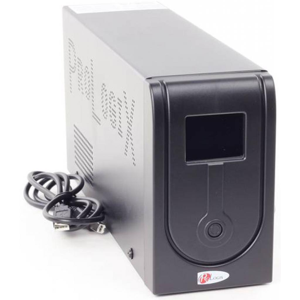 Источник бесперебойного питания PrologiX Standart 1500 LCD+USB изображение 3