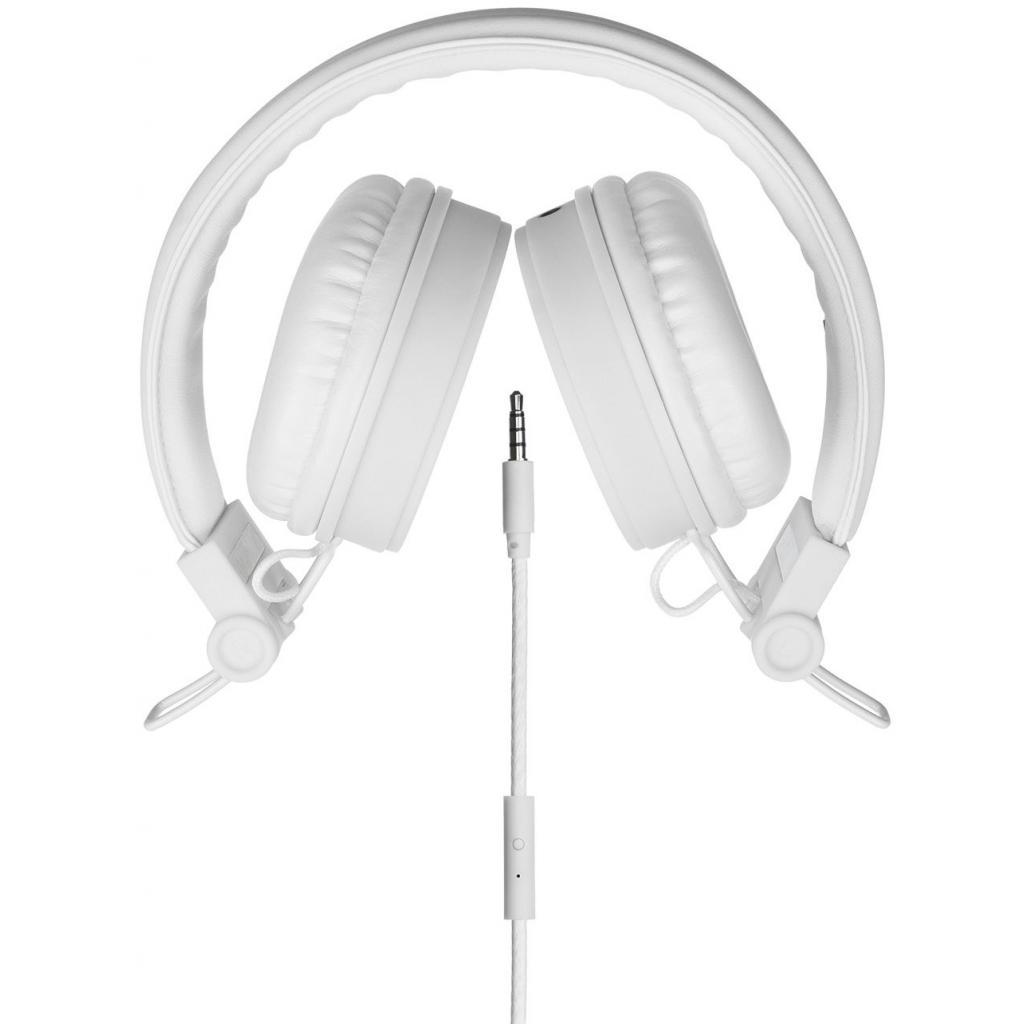 Наушники KitSound KS Malibu on-ear headphones with In-Line Mic White (KSMALIWH) изображение 3