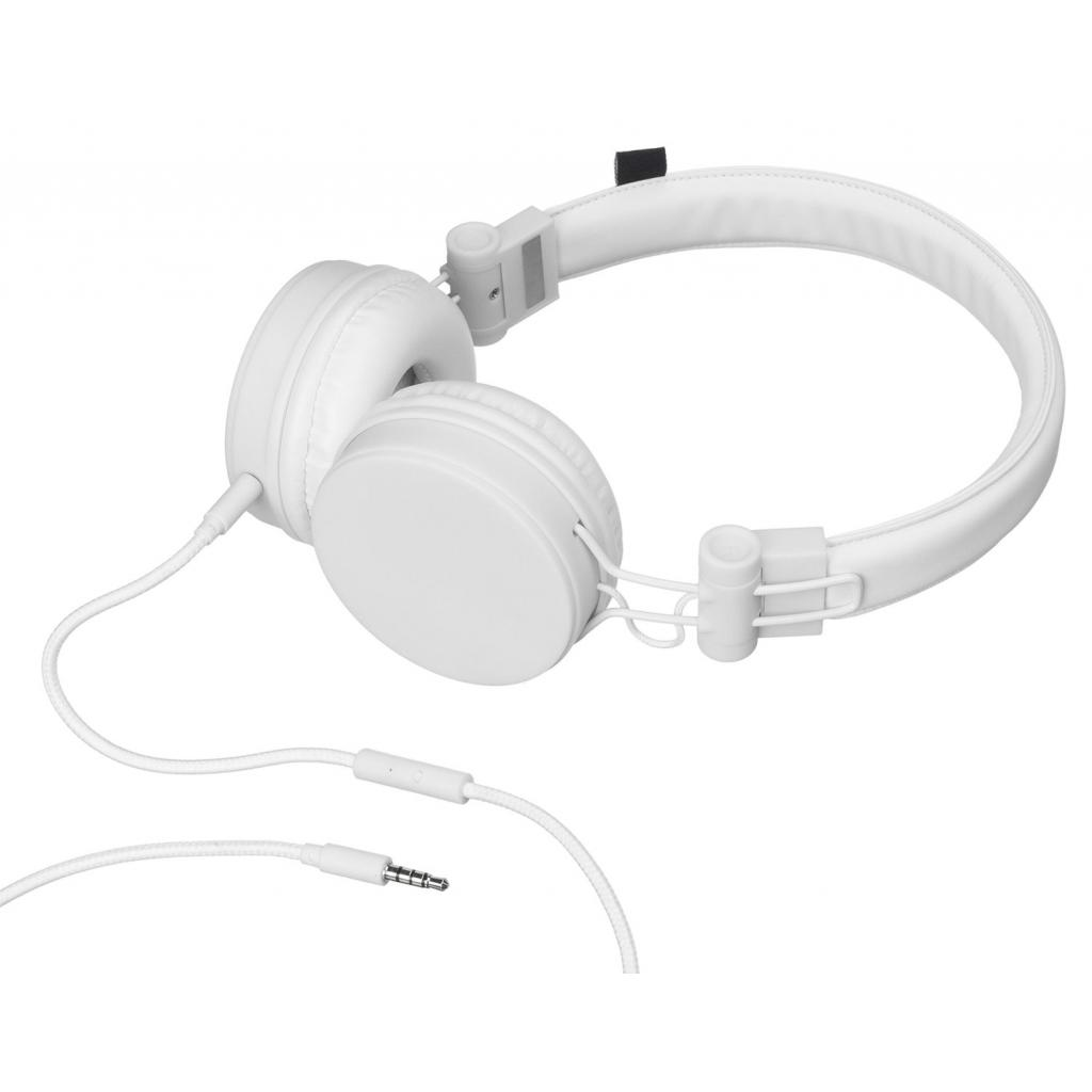 Наушники KitSound KS Malibu on-ear headphones with In-Line Mic White (KSMALIWH) изображение 4