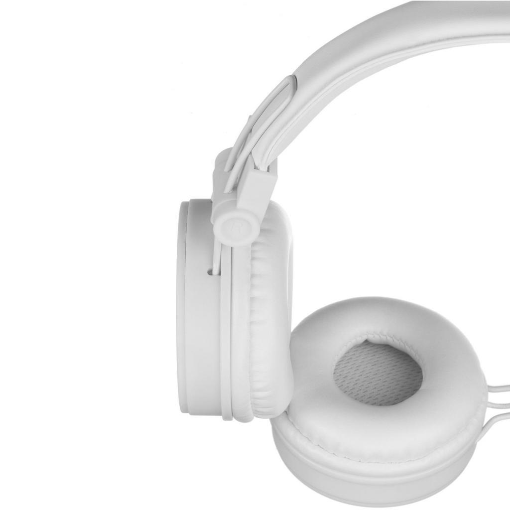 Наушники KitSound KS Malibu on-ear headphones with In-Line Mic White (KSMALIWH) изображение 5