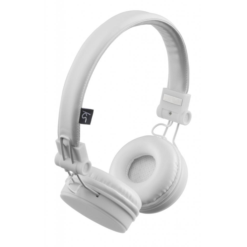 Наушники KitSound KS Malibu on-ear headphones with In-Line Mic White (KSMALIWH)