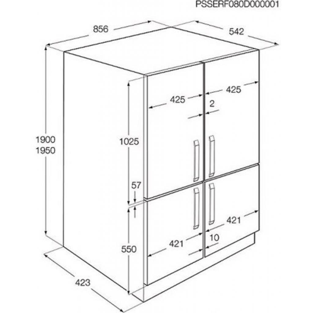 Холодильник ELECTROLUX ENG 94596 AW (ENG94596AW) изображение 2