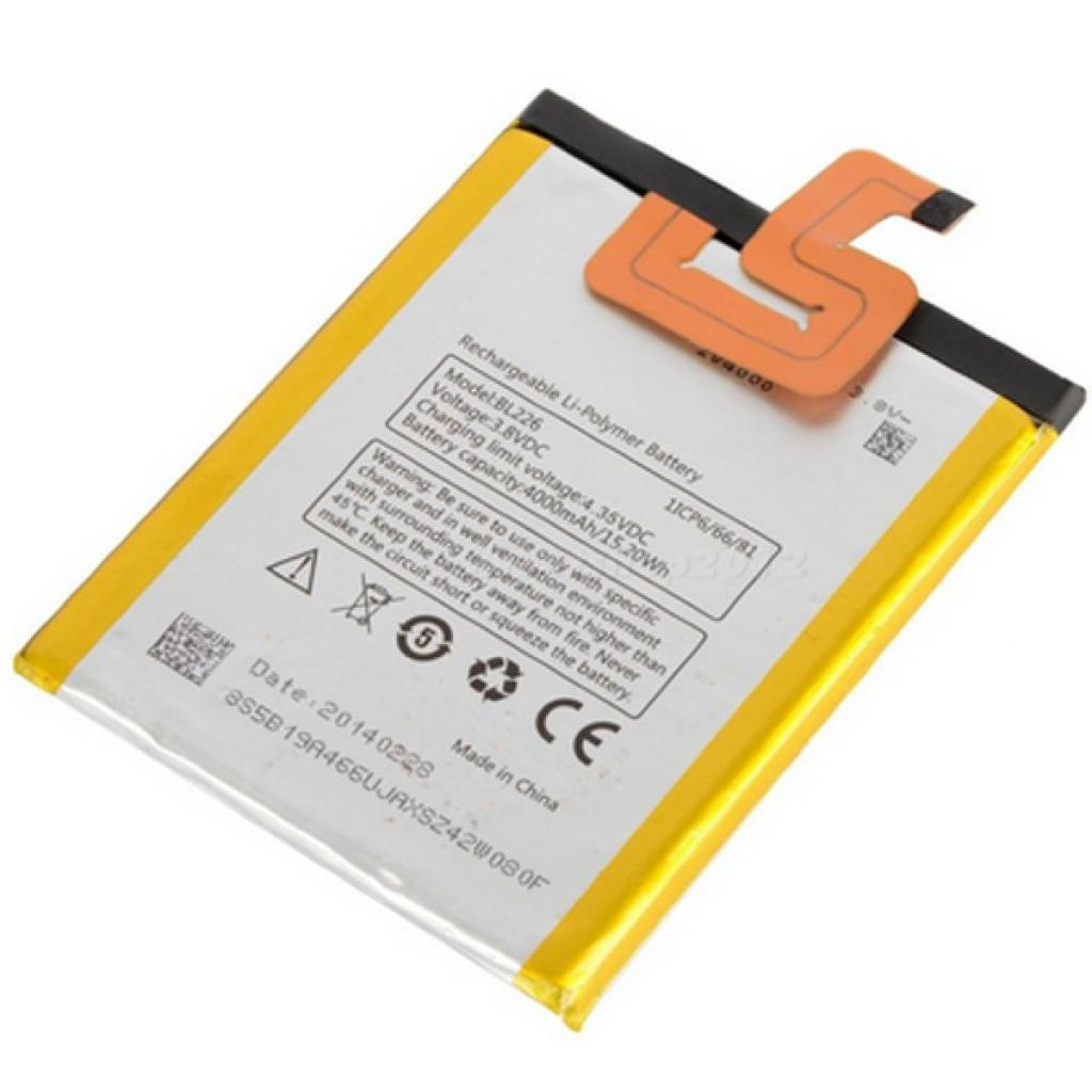 Аккумуляторная батарея Lenovo for S860 (BL-226 / 29719)