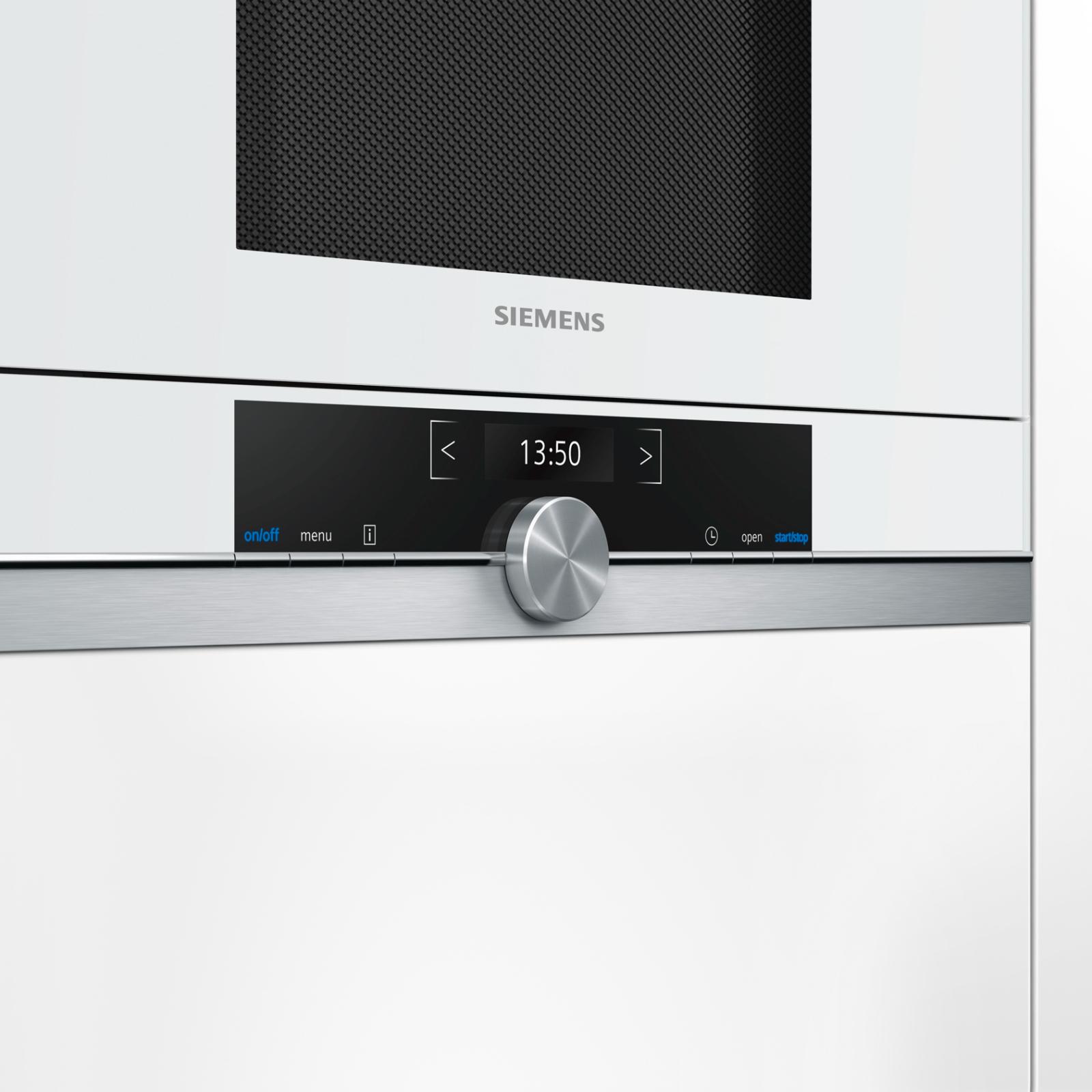 Микроволновая печь Siemens BF 634 RGW1 (BF634RGW1) изображение 2