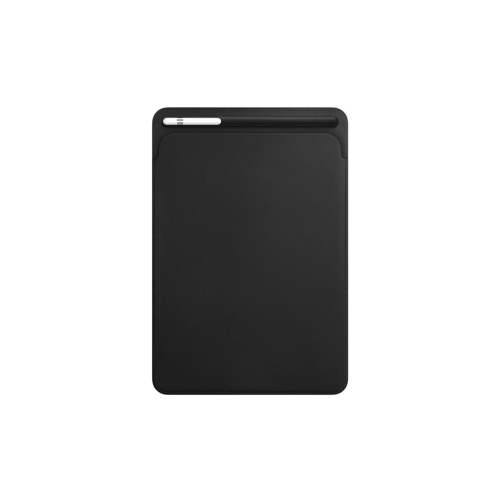 Чехол для планшета Apple Leather Sleeve for 10.5‑inch iPad Pro - Black (MPU62ZM/A)