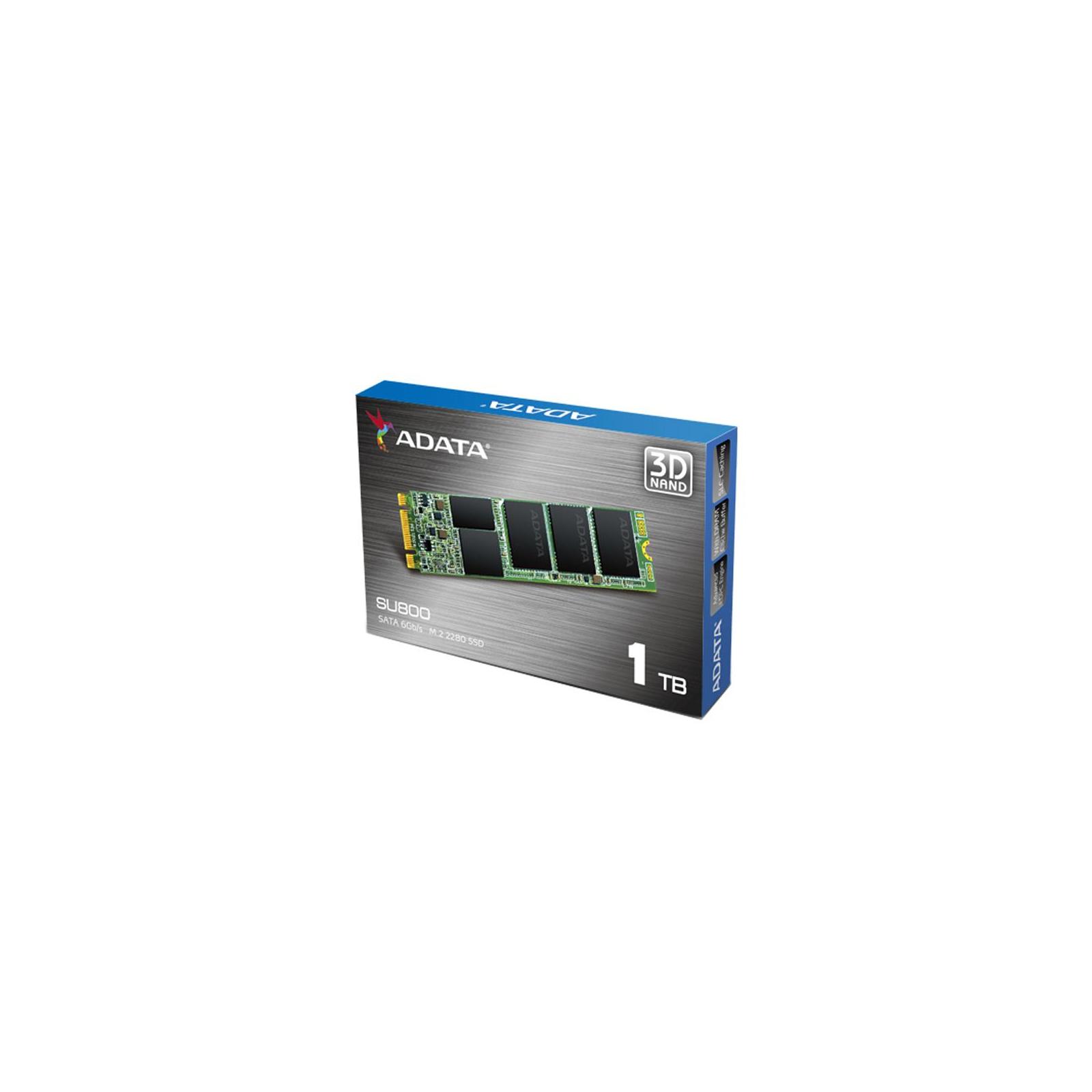 Накопитель SSD M.2 2280 1TB ADATA (ASU800NS38-1TT-C) изображение 5