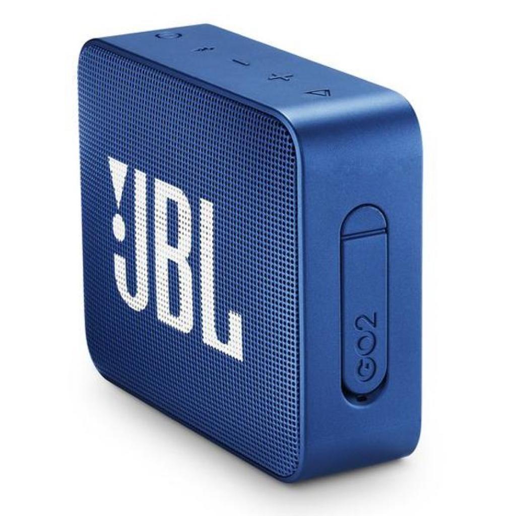Акустическая система JBL GO 2 Blue (JBLGO2BLU) изображение 3