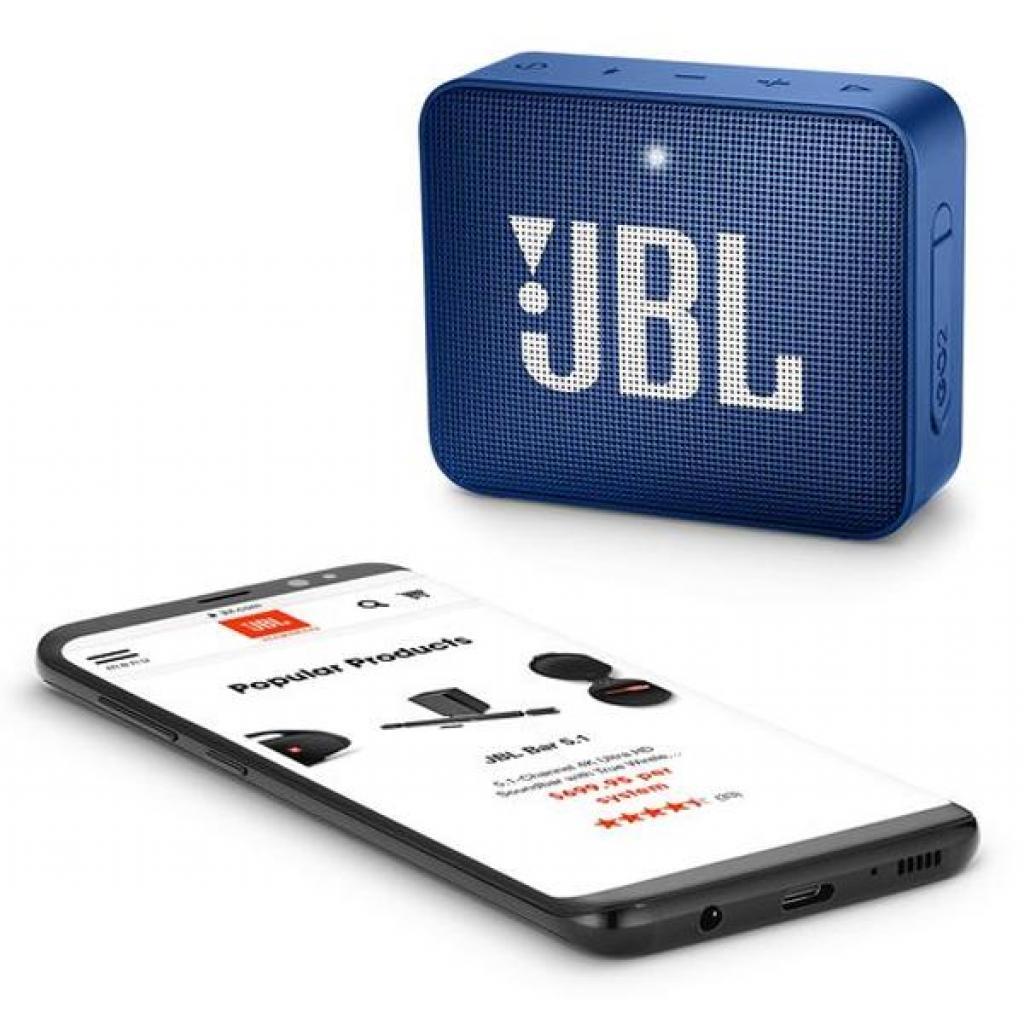Акустическая система JBL GO 2 Blue (JBLGO2BLU) изображение 6