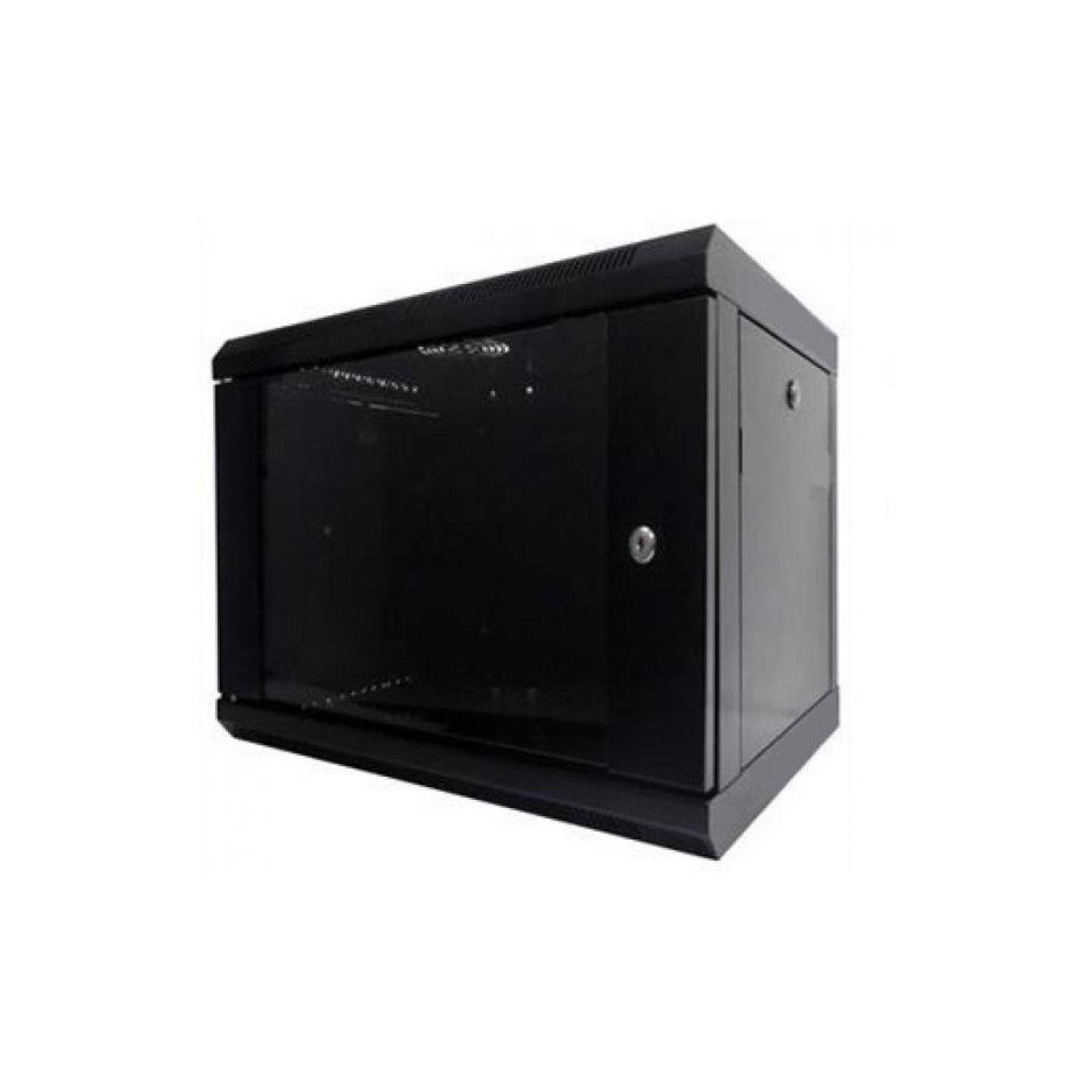"""Шкаф настенный Hypernet 6U 19"""" 600x350 (WMNC-35-6U-FLAT-BLACK)"""