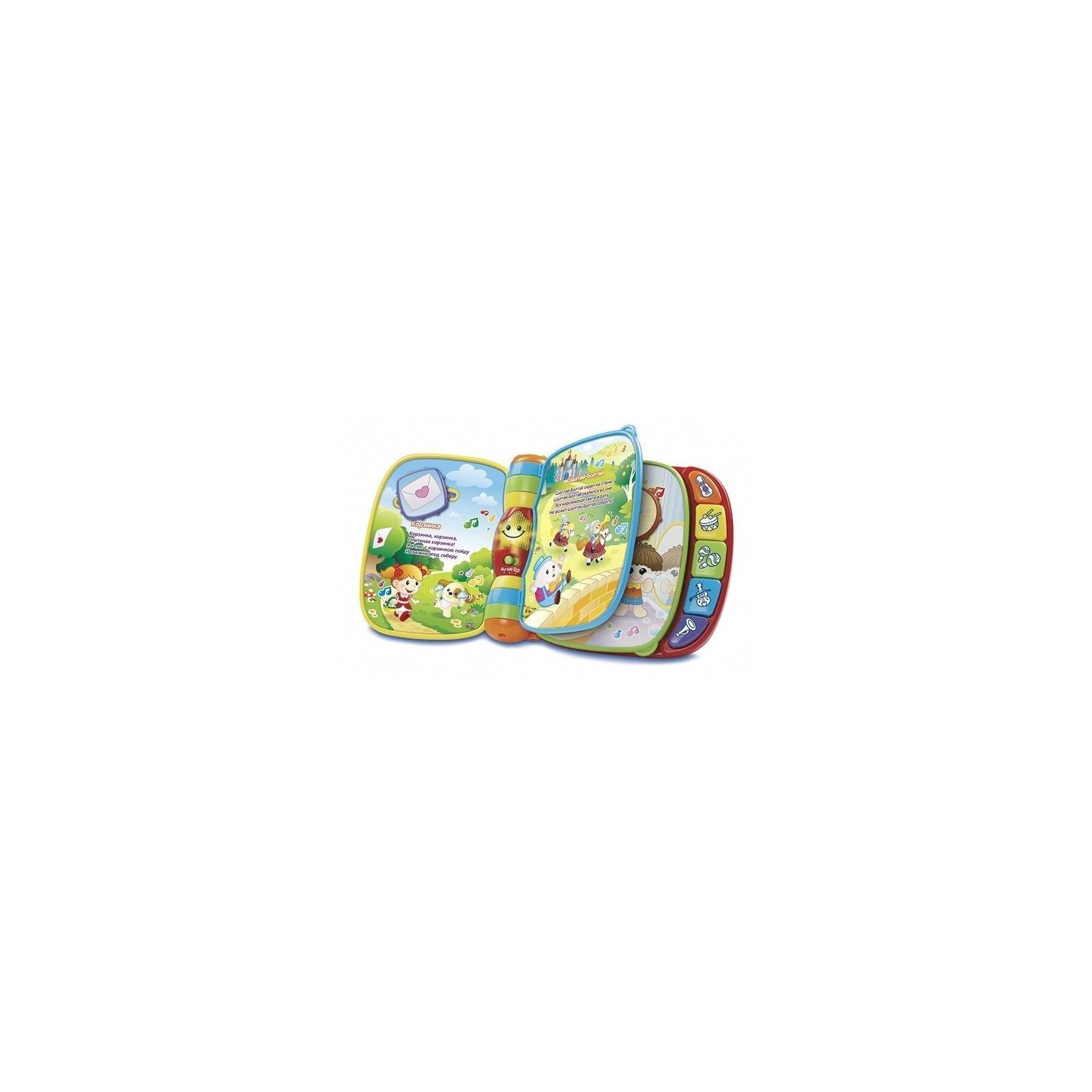 Развивающая игрушка VTech Музыкальная книга со звуковыми эффектами (80-166726) изображение 2