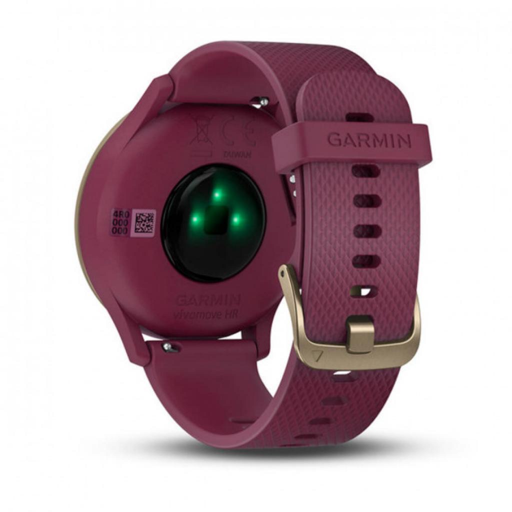 Смарт-часы Garmin Vivomove HR Sport Black/ Black Large (010-01850-A1) изображение 5