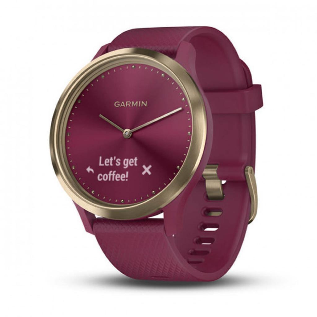 Смарт-часы Garmin Vivomove HR Sport Black/ Black Large (010-01850-A1)