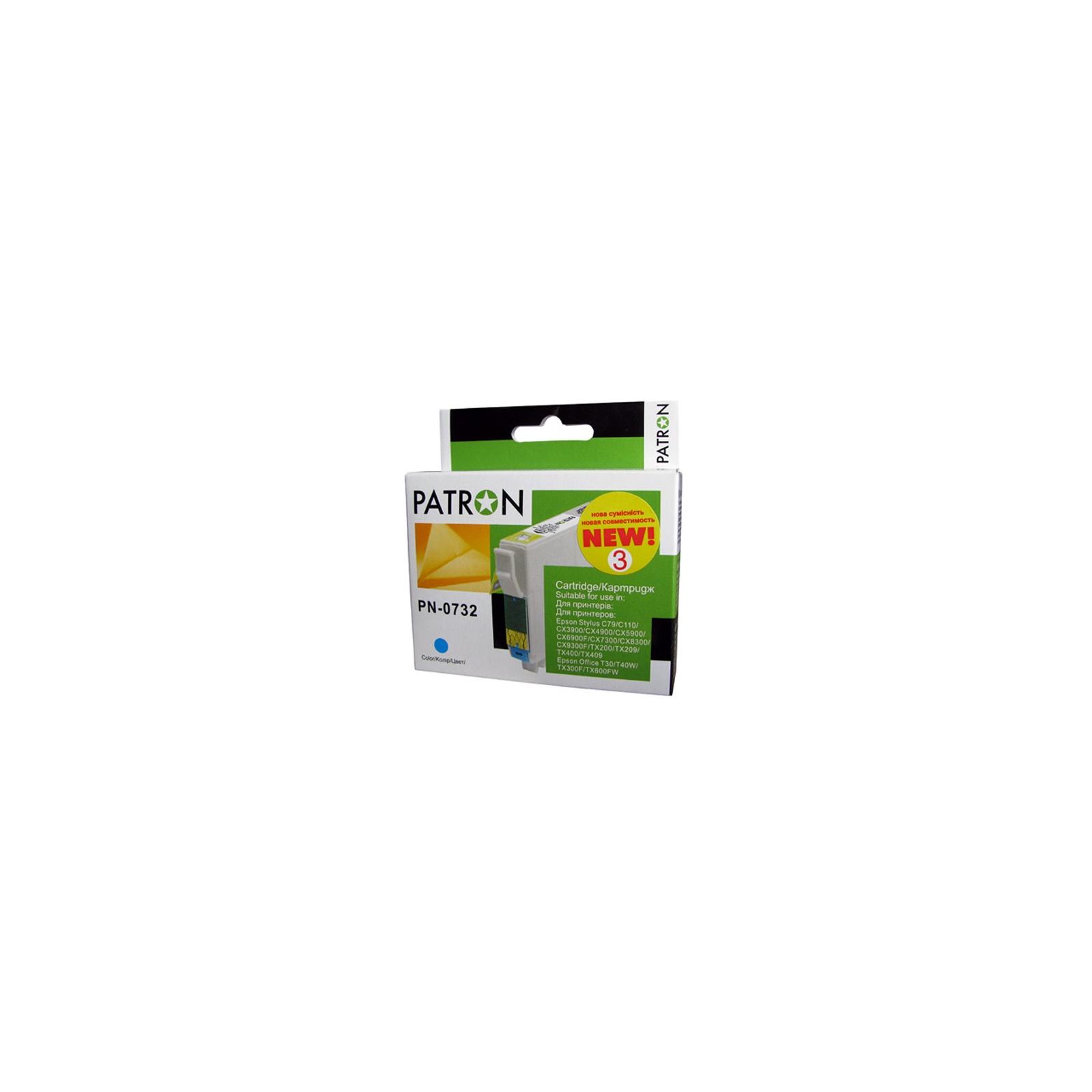 Картридж PATRON для EPSON C79/C110/TX200 cyan (CI-EPS-T07324-C3-PN) изображение 2
