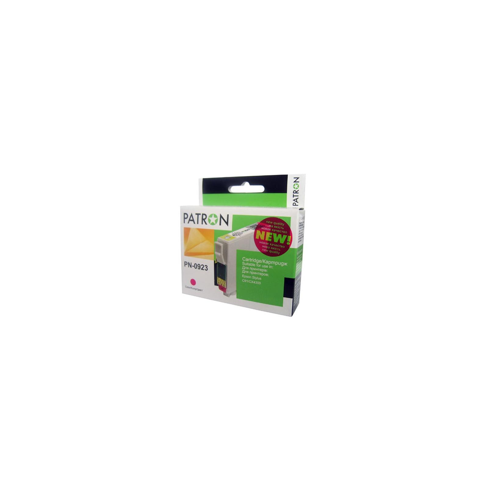 Картридж PATRON для EPSON C91/T26/27/TX106 magenta (CI-EPS-T09234A-M2-PN) изображение 2