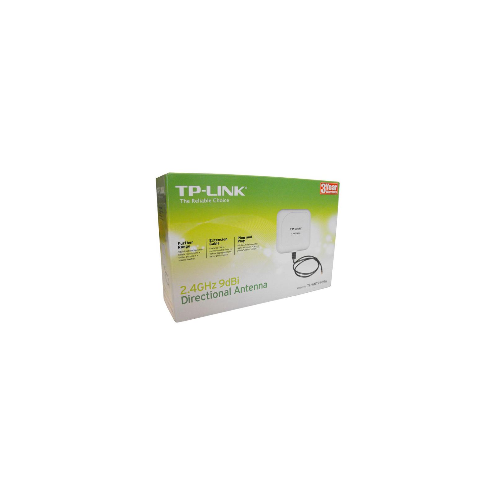 Антенна Wi-Fi Wireless Antenna 9dBi направленная, TP-Link (TL-ANT2409A) изображение 3