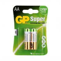 Батарейка AA LR6 Super Alcaline * 2 GP (GP15A-2UE2)