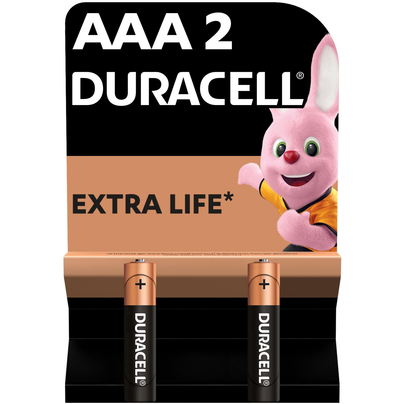 Батарейка AAA MN2400 LR03 * 2 Duracell (5000394058170 / 81484984)
