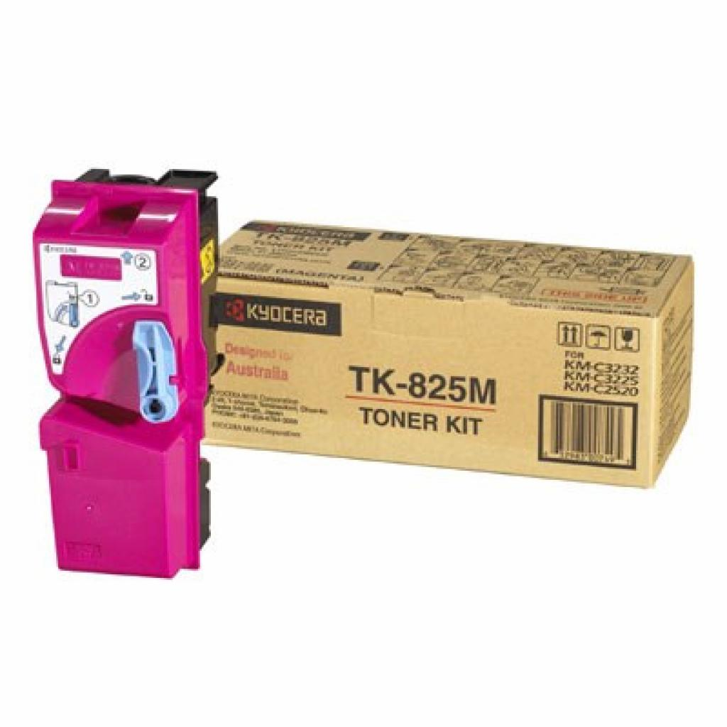 Тонер-картридж Kyocera TK-825M magenta 7.5К (1T02FZBEU0)