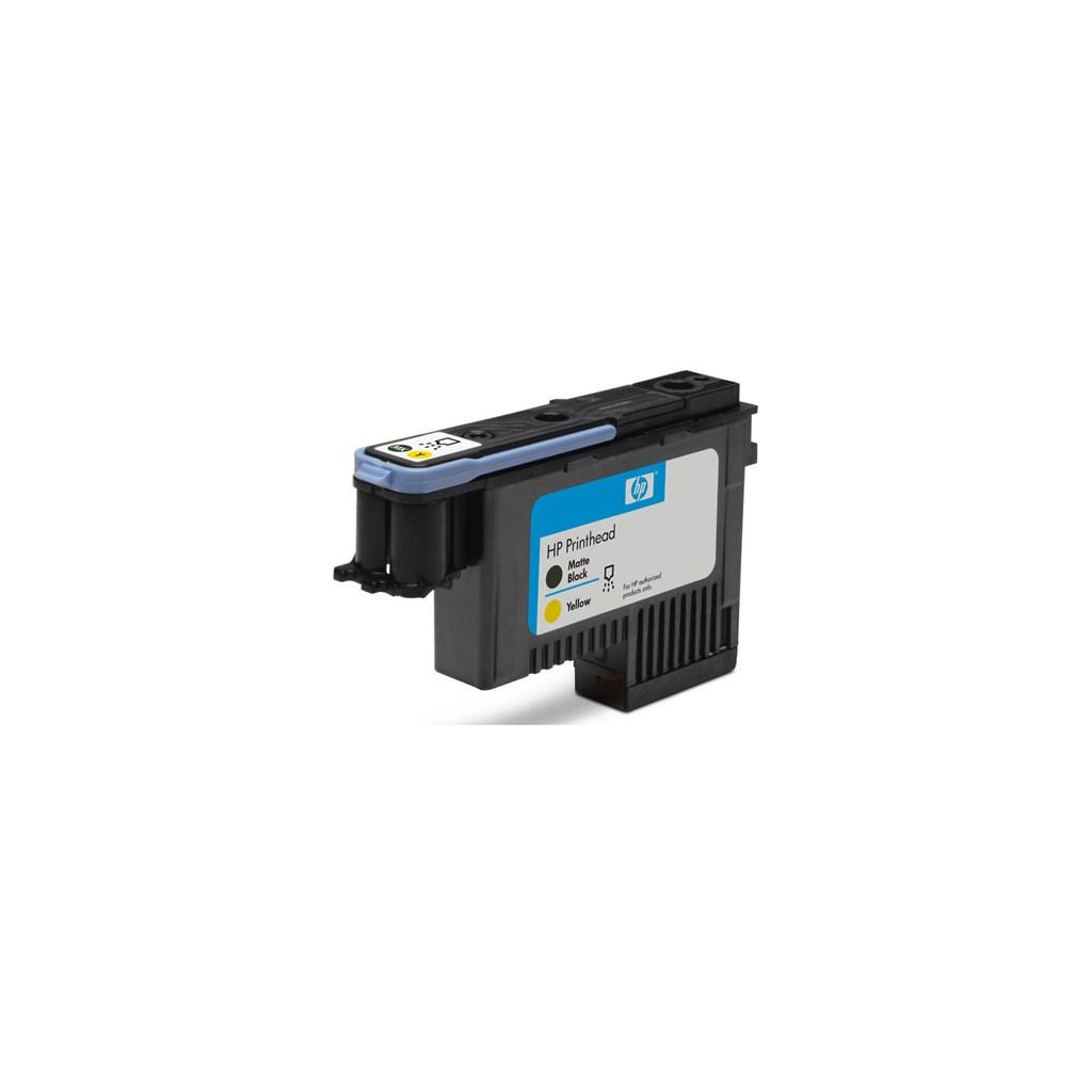 Печатающая головка HP №72 Matte Black and Yellow (C9384A)