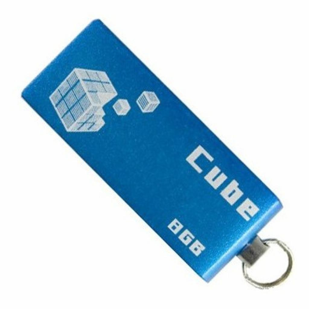 USB флеш накопитель GOODRAM 8Gb Cube blue (PD8GH2GRCUBR9)