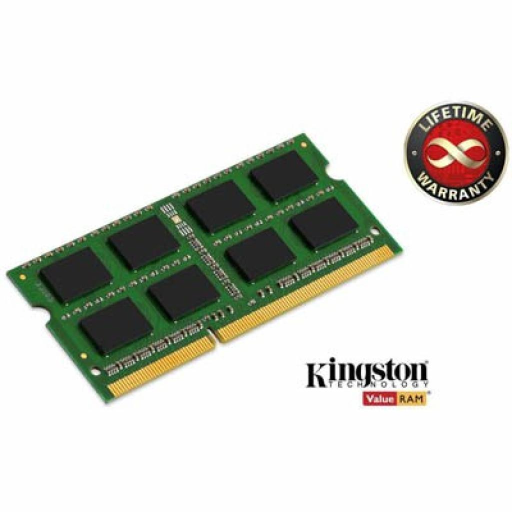 Модуль памяти для ноутбука SoDIMM DDR3 4GB 1600 MHz Kingston (KVR16S11/4)