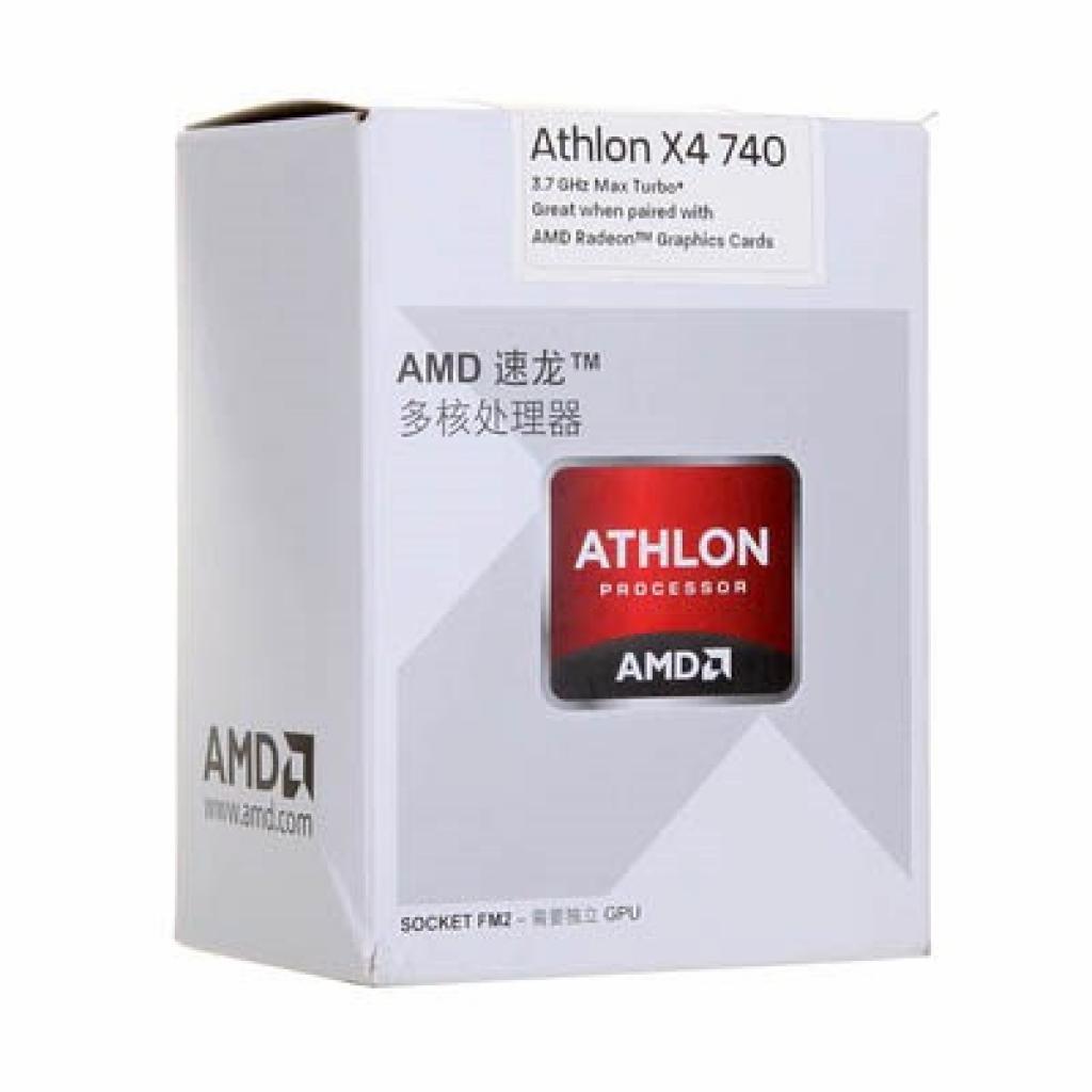Процессор AMD Athlon ™ II X4 740 (AD740XOKHJBOX)
