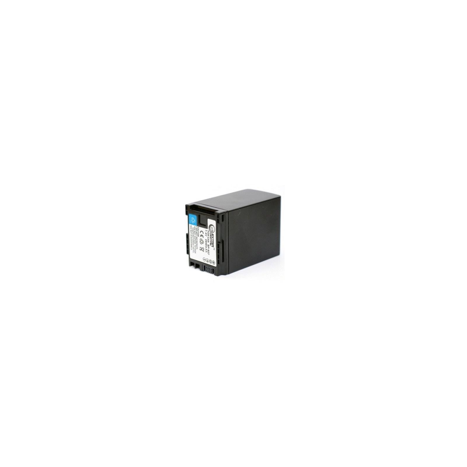 Аккумулятор к фото/видео EXTRADIGITAL Canon BP-827 Chip (BDC2418 / DV00DV1262)