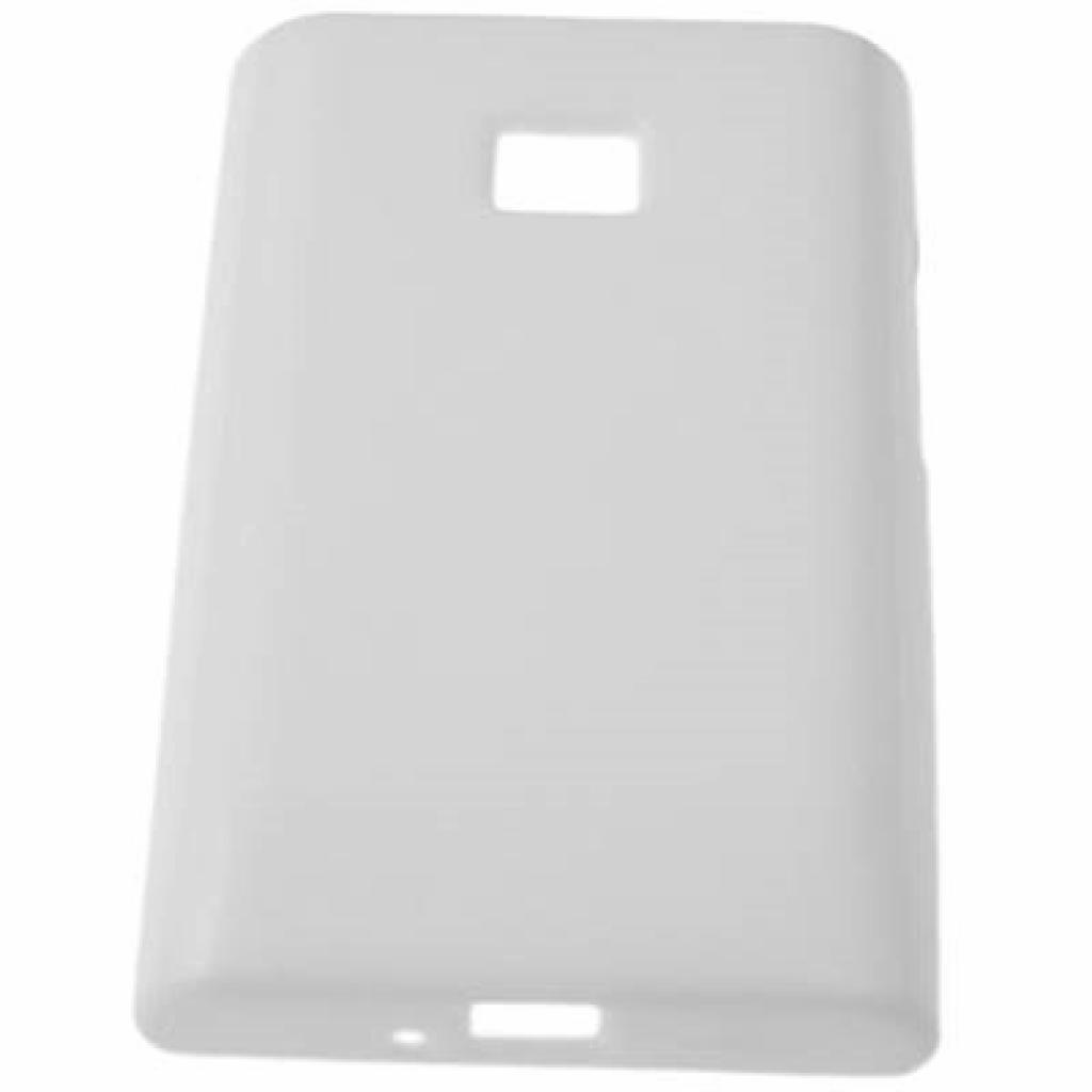 Чехол для моб. телефона Drobak для LG Optimus L3 E405 /Elastic PU (211521)