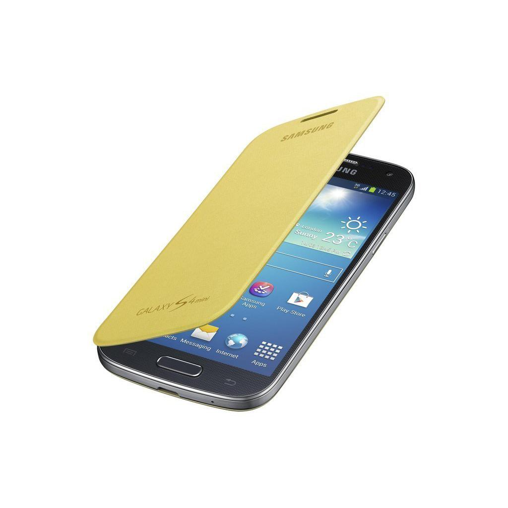 Чехол для моб. телефона Samsung I9195 S4 mini/Yellow/Flip Cover (EF-FI919BYEGWW) изображение 2