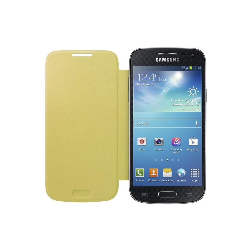 Чехол для моб. телефона Samsung I9195 S4 mini/Yellow/Flip Cover (EF-FI919BYEGWW) изображение 3