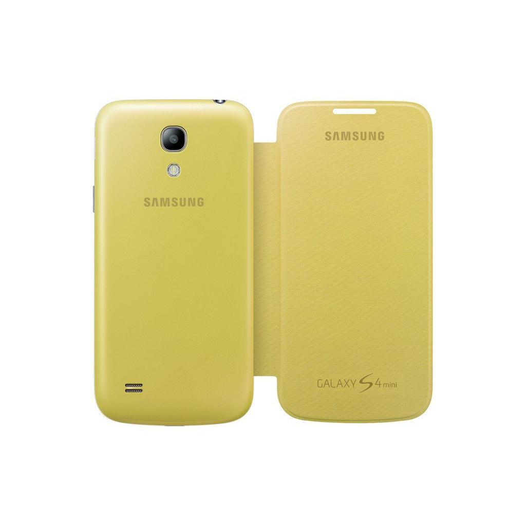 Чехол для моб. телефона Samsung I9195 S4 mini/Yellow/Flip Cover (EF-FI919BYEGWW) изображение 5