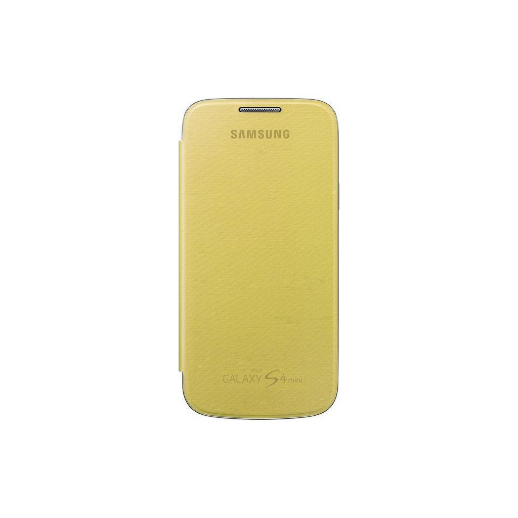 Чехол для моб. телефона Samsung I9195 S4 mini/Yellow/Flip Cover (EF-FI919BYEGWW)