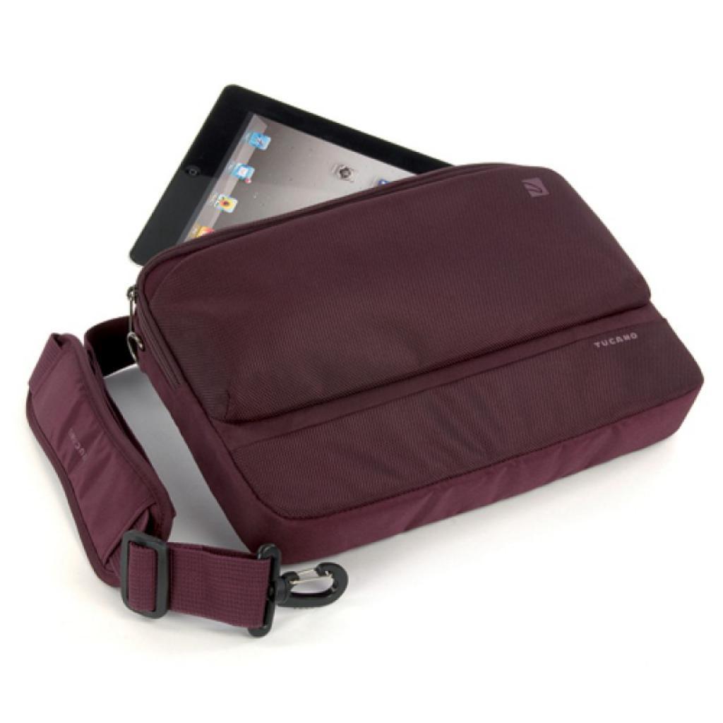 """Сумка для ноутбука Tucano 11"""" Dritta/Burgundy (BDR11-BX) изображение 4"""