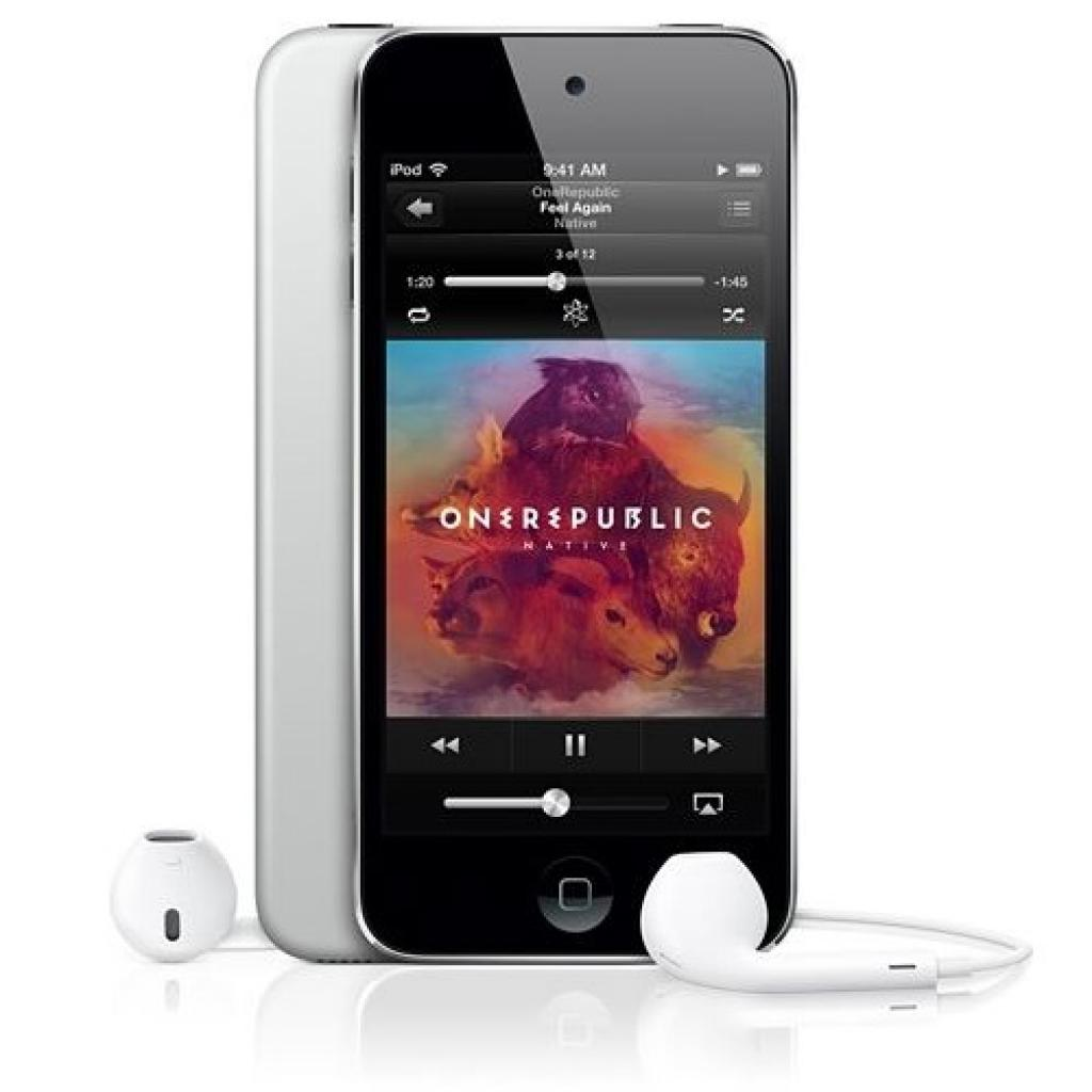 mp3 плеер Apple iPod Touch 16GB Black&Silver (5Gen) (ME643RP/A)