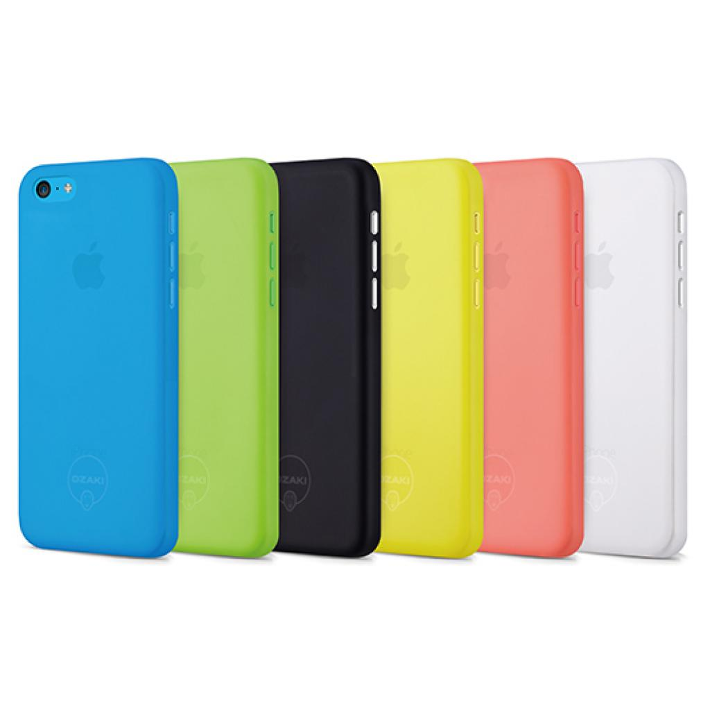 Чехол для моб. телефона OZAKI iPhone 5С O!coat 0.3 Jelly ultra slim Transparent (OC546TR) изображение 4