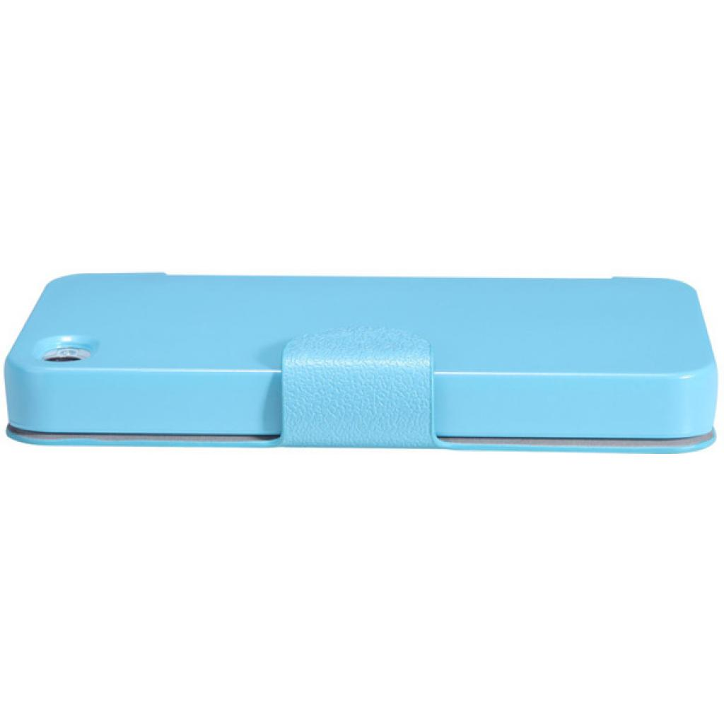 Чехол для моб. телефона NILLKIN для iPhone 4S /Fresh/ Leather/Blue (6065676) изображение 5